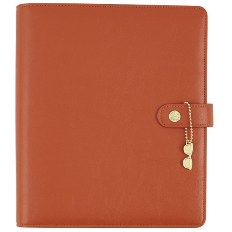 Simple Stories Carpe Diem A5 The Reset Girl Faux Leather