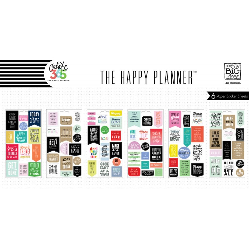 Me my big ideas create 365 the happy planner show up for Me my big ideas planner