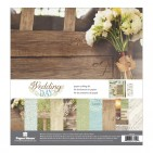 "Paper House Wedding Day 12""x12"" Paper Crafting Kit KTSP1026"
