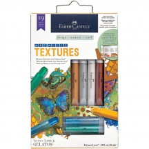 Faber Castell Mix & Match Gelatos Metallic Textures Kit