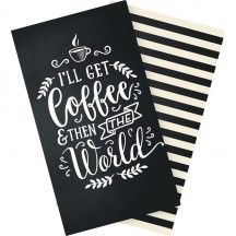 Echo Park Traveler's Notebook Coffee & Friends Blank Inserts TNO1001