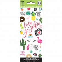 Me & My Big Ideas The Happy Planner Love Yo Selfie Value Pack Stickers PPSM-04