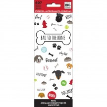 Me & My Big Ideas The Happy Planner Bad To The Bone Value Pack Stickers PPSM-08