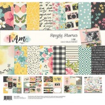 "Simple Stories I Am 12""x12"" Collection Kit 10024"