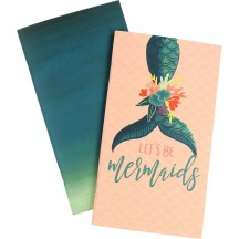 Echo Park Traveler's Notebook Mermaid Lined Inserts TNME1002