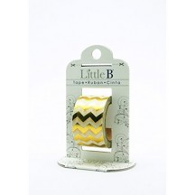 Little B Gold Foil Chevron Designer Washi Tape 10m 100415