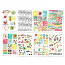 Simple Stories Hello Summer Stickers 10154