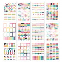 Simple Stories Planner Basics A5 Planner Sticker Tablet 10182