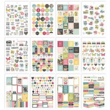 Simple Stories Hello A5 Planner Sticker Tablet 10263