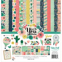 "Echo Park Just Be You 12""x12"" Collection Kit JBY119016"
