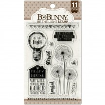 Bo Bunny Be The Light Clear Stamp Set 12105026