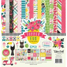 "Echo Park Summer Fun 12""x12"" Collection Kit SF125016"