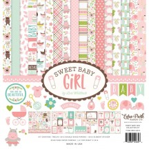 "Echo Park Sweet Baby Girl 12""x12"" Collection Kit SBG142016"