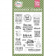 Echo Park Trust In The Lord Clear Stamp Set HAF152042