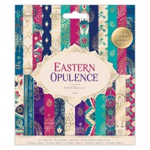 """doCrafts Papermania Eastern Opulence 6""""x6"""" Paper Pack 160276"""