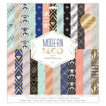 """doCrafts Papermania Modern Deco 12""""x12"""" Paper Pack 160277"""