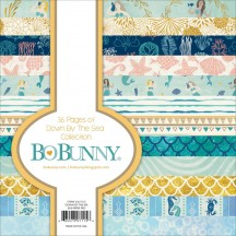 "Bo Bunny Down By The Sea 12""x12"" Collection Pack 21616116"