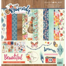 "Photoplay Rhapsody 12""x12"" Collection Pack RH2456"