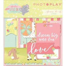 Photoplay About  Little Girl Ephemera Die Cut Cardstock Pieces ALG2468