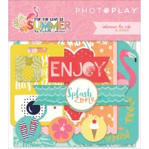Photoplay For The Love Of Summer Ephemera Die Cut Cardstock Pieces FS2535