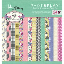 "Photoplay Julie Nutting Seeds Of Kindness 6""x6"" Double-Sided Paper Pad SK2546"