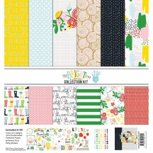 "Fancy Pants The Bright Side 12""x12"" Collection Kit 2917"