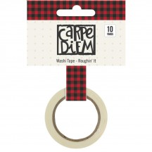 Simple Stories Cabin Fever Washi Tape - Roughin' It 3048