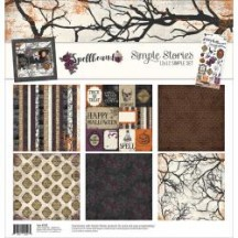 "Simple Stories Spellbound 12""x12"" Simple Sets Collection Kit 3055"