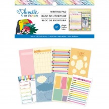 """American Crafts Shimelle Box Of Crayons 6""""x8"""" Writing Pad 346609"""