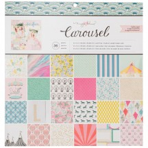 "Crate Paper Maggie Holmes Carousel 12""x12"" Paper Pad 379114"