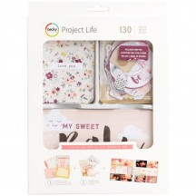 Becky Higgins Project Life Value Pack Cards Little You Girl 380804