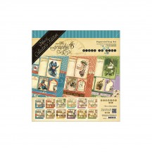 Graphic 45 Papercrafting Place In Time Deluxe Collectors Edition Pack 4501470
