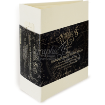 Graphic 45 Ivory Rectangular Tag & Pocket Album 4501518