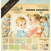 Graphic 45 Papercrafting Little Darlings Deluxe Collectors Edition Pack 4501614