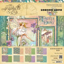 "Graphic 45 Fairie Dust 12""x12"" Collection Pack 4501641"