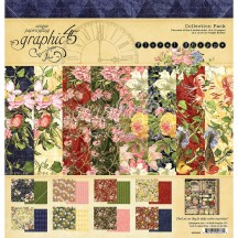 """Graphic 45 Floral Shoppe 12""""x12"""" Collection Pack 4501698"""