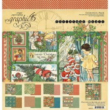 """Graphic 45 Christmas Magic 12""""x12"""" Collection Pack 4501735"""