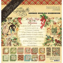 Graphic 45 Twelve Days Of Christmas Deluxe Collectors Edition Pack 4501741