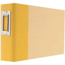 "Simple Stories Snap Binder Yellow 4""x6"" Kraft Album & Accessories 4104"