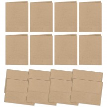 Simple Stories DIY US A2 Kraft Card Bases & Envelopes 5166