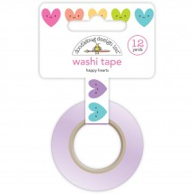 Doodlebug Fairy Tales Happy Hearts Decorative Washi Tape 5561