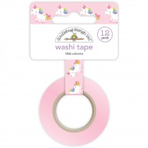 Doodlebug Fairy Tales Little Unicorns Decorative Washi Tape 5562