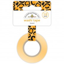 Doodlebug At the Zoo Leopard Print Decorative Washi Tape 5569