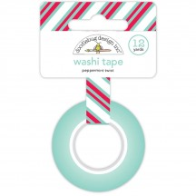Doodlebug Milk & Cookies Peppermint Twist Decorative Christmas Washi Tape 5745