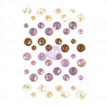 Prima Marketing Say it in Crystals Lavender Embellishments 630195