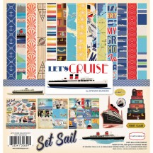 "Carta Bella Let's Cruise 12""x12"" Collection Kit CBLC65016"