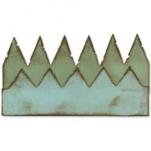 Sizzix On The Edge Die Tim Holtz Alterations - Pennants 657181