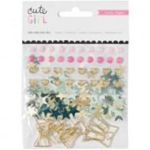 Crate Paper Cute Kid Mixed Embellishments 680512