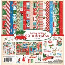 "Carta Bella A Very Merry Christmas 12""x12"" Collection Kit CBVMC72016"