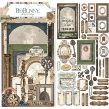 Bo Bunny Once Upon A Lifetime Noteworthy Die-Cut Journaling & Accents Cardstock 7310092